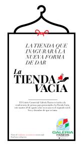 Invitacion La Tienda Vacía